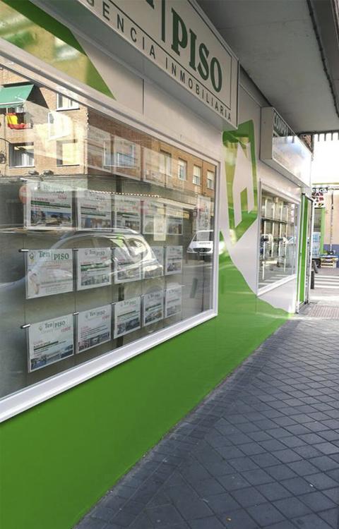 revestimiento fachada aluminio dibond rotulos madrid