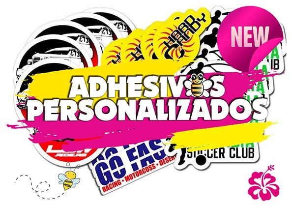 adhesivo personalizados